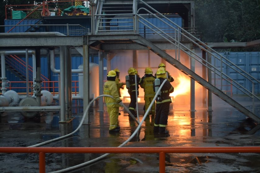 Refresher Course on Advanced Fire Fighting